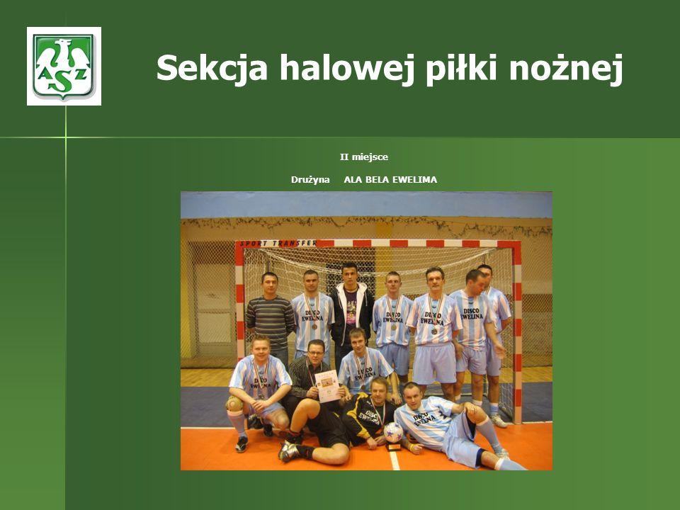 Sekcja halowej piłki nożnej