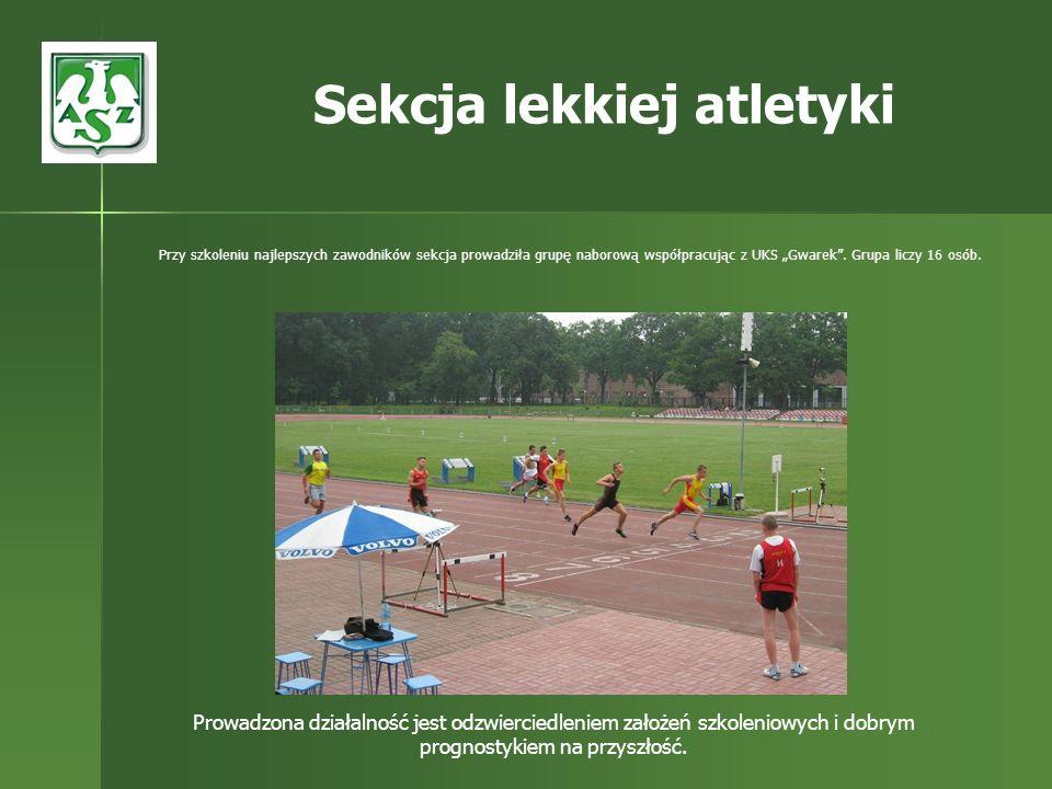 Sekcja lekkiej atletyki