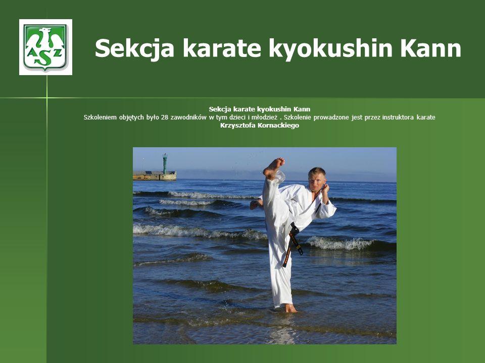 Sekcja karate kyokushin Kann Sekcja karate kyokushin Kann