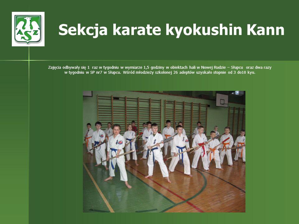 Sekcja karate kyokushin Kann