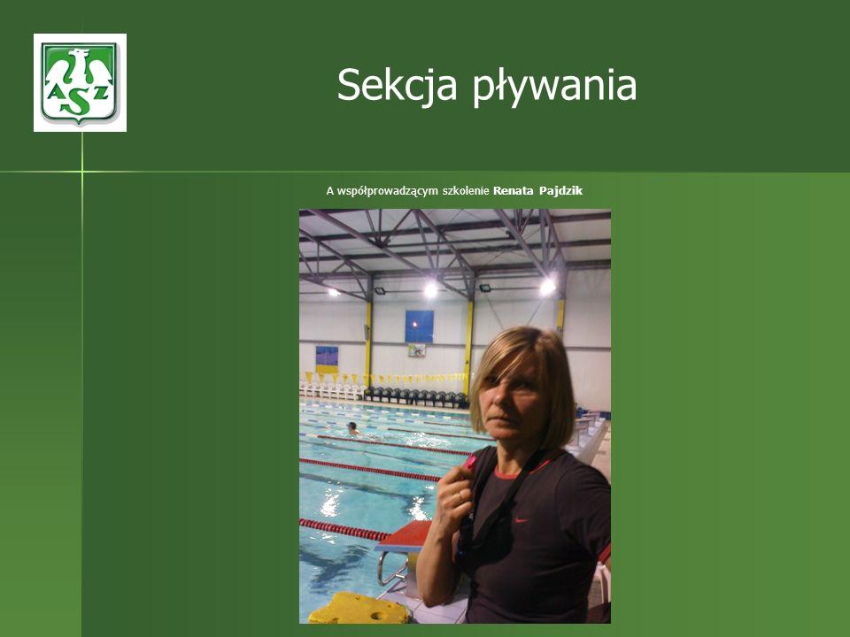 A współprowadzącym szkolenie Renata Pajdzik