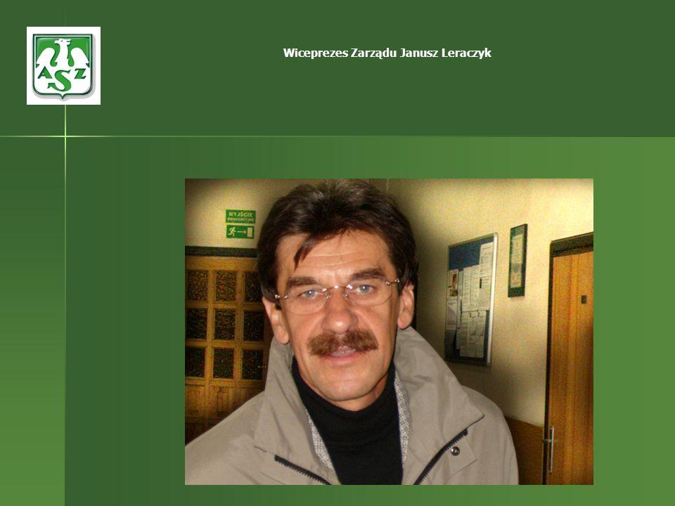 Wiceprezes Zarządu Janusz Leraczyk