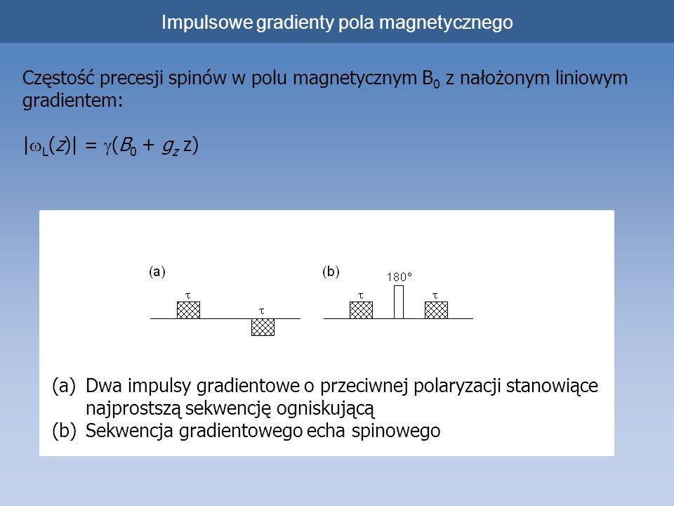 Impulsowe gradienty pola magnetycznego