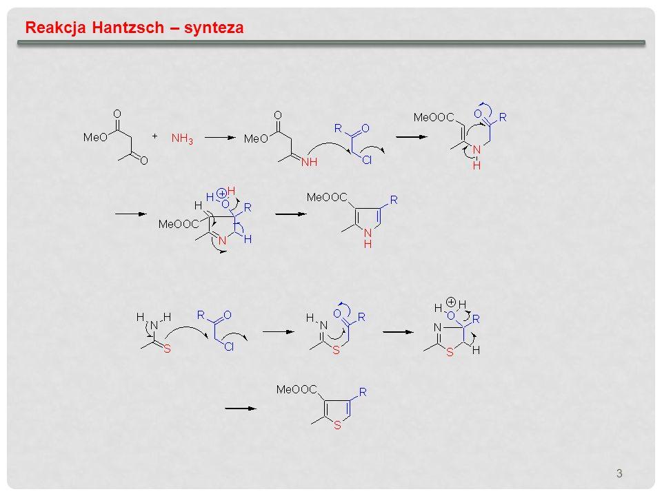 Reakcja Hantzsch – synteza
