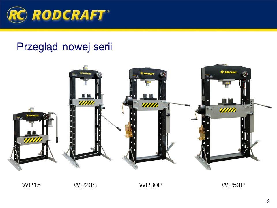 Przegląd nowej serii WP15 WP20S WP30P WP50P