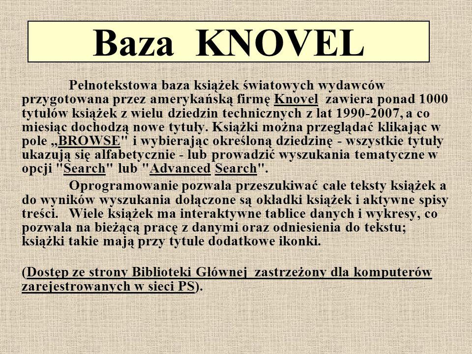 Baza KNOVEL