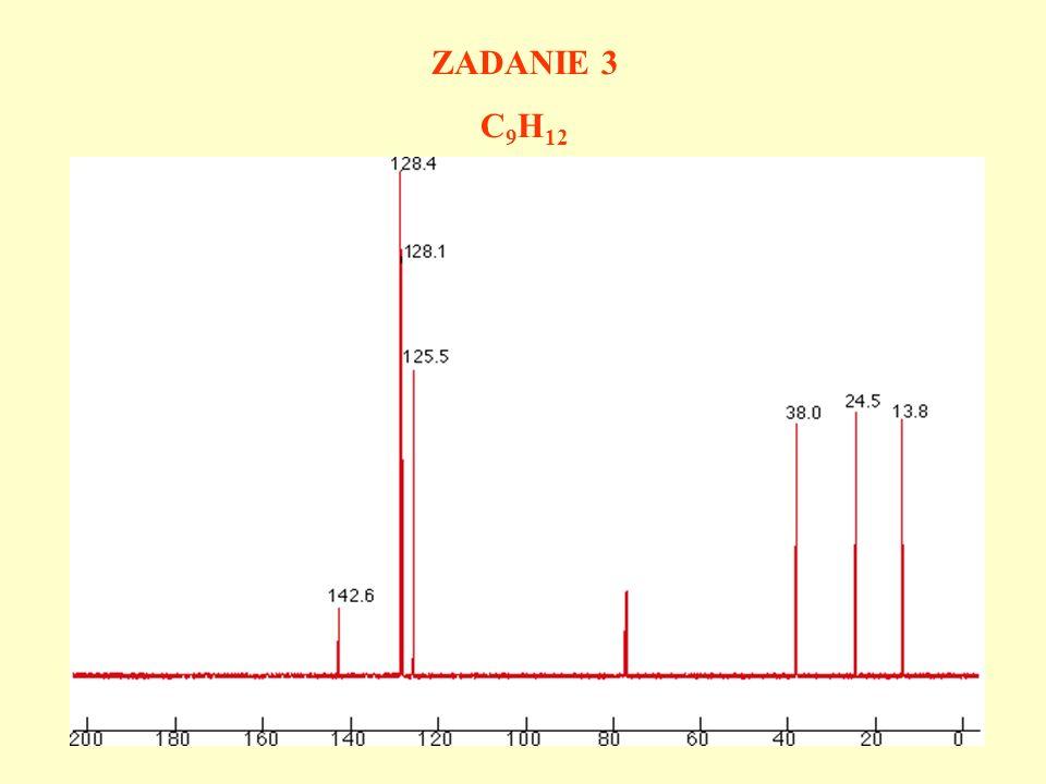 ZADANIE 3 C9H12