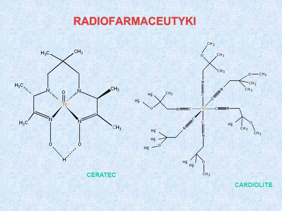 Tc C N CH 3 HC O CERATEC CARDIOLITE