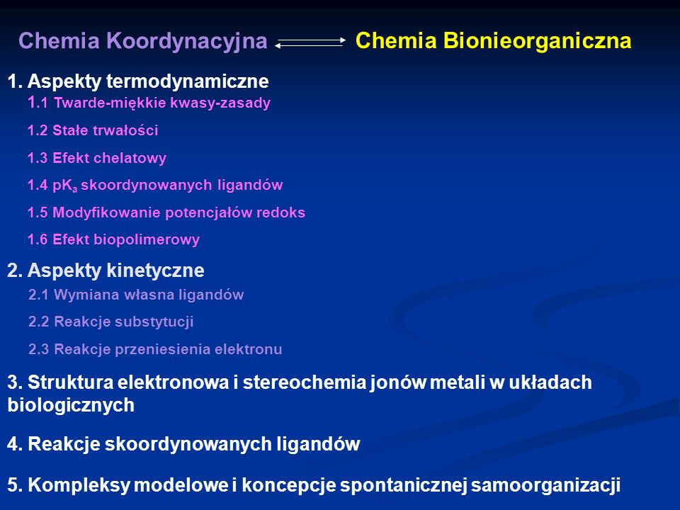Chemia Bionieorganiczna