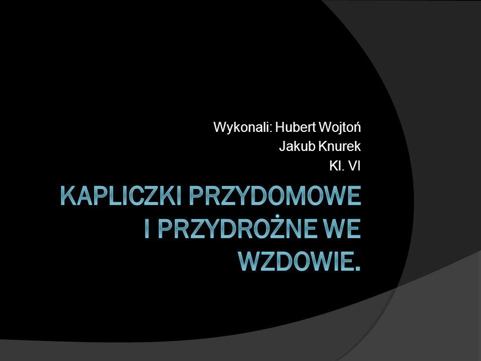 Kapliczki przydomowe i przydrożne we Wzdowie.