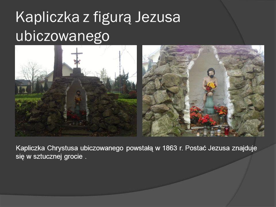 Kapliczka z figurą Jezusa ubiczowanego