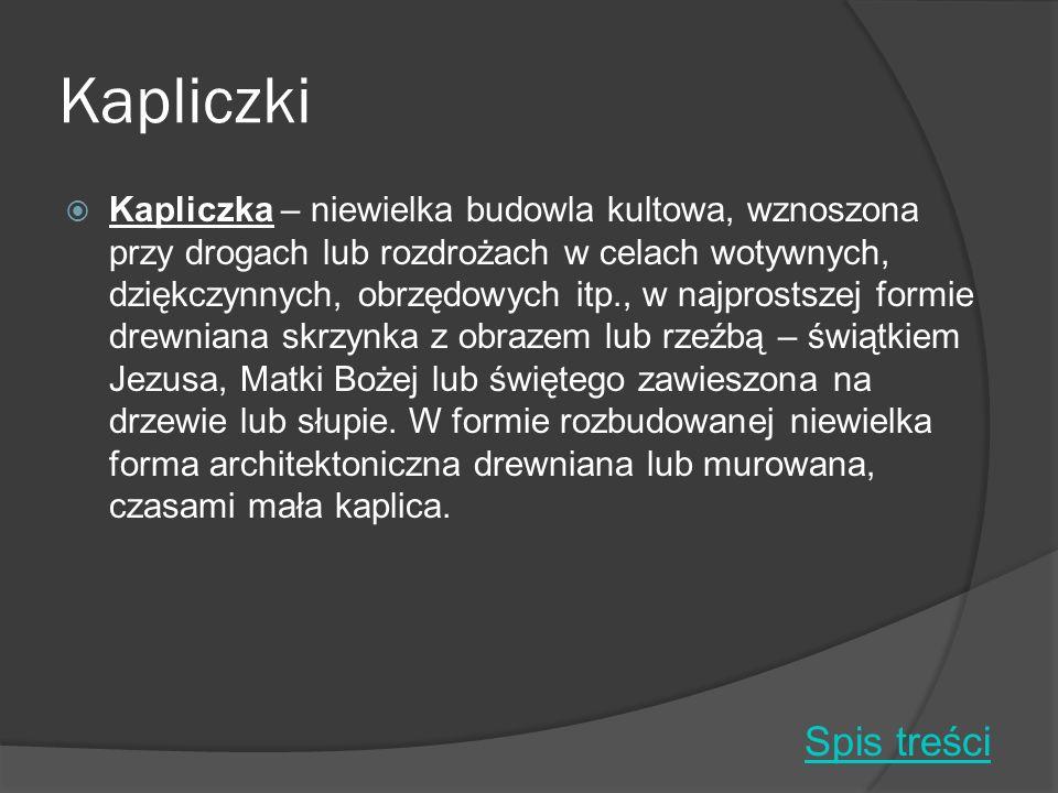 Kapliczki