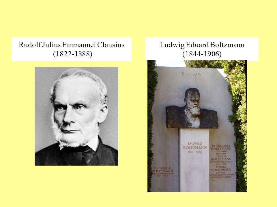 Rudolf Julius Emmanuel Clausius (1822-1888)