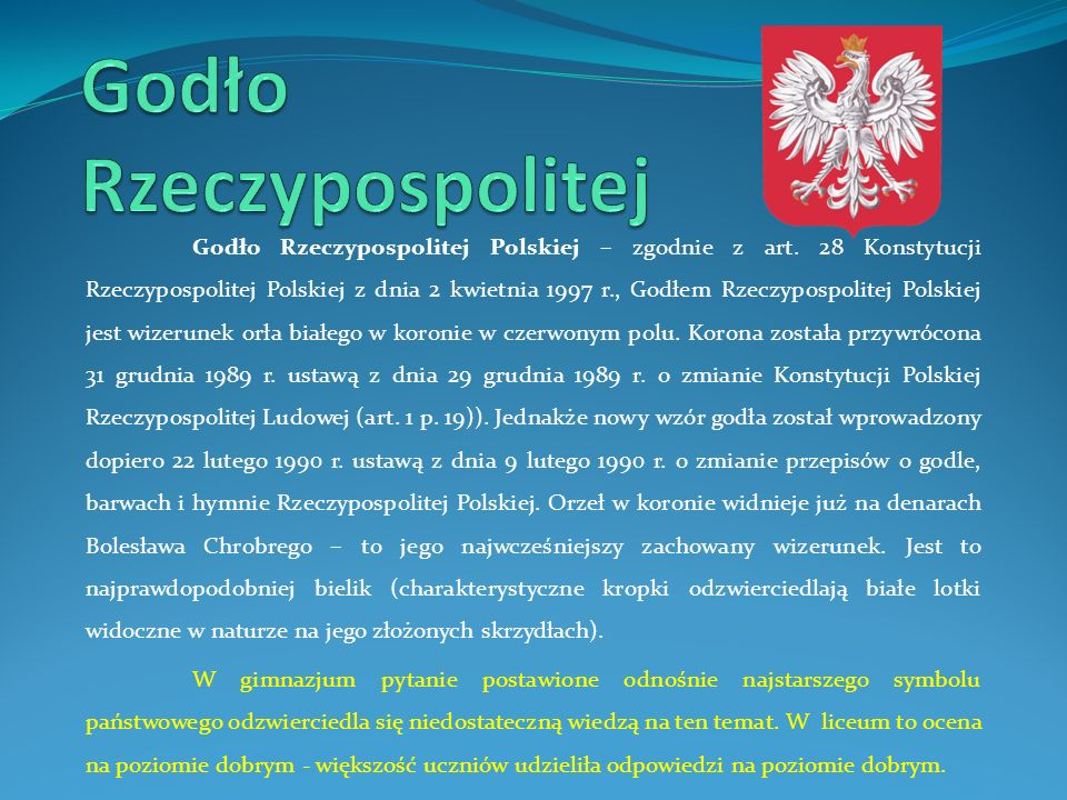 Godło Rzeczypospolitej