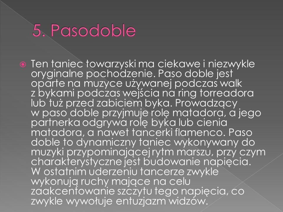 5. Pasodoble