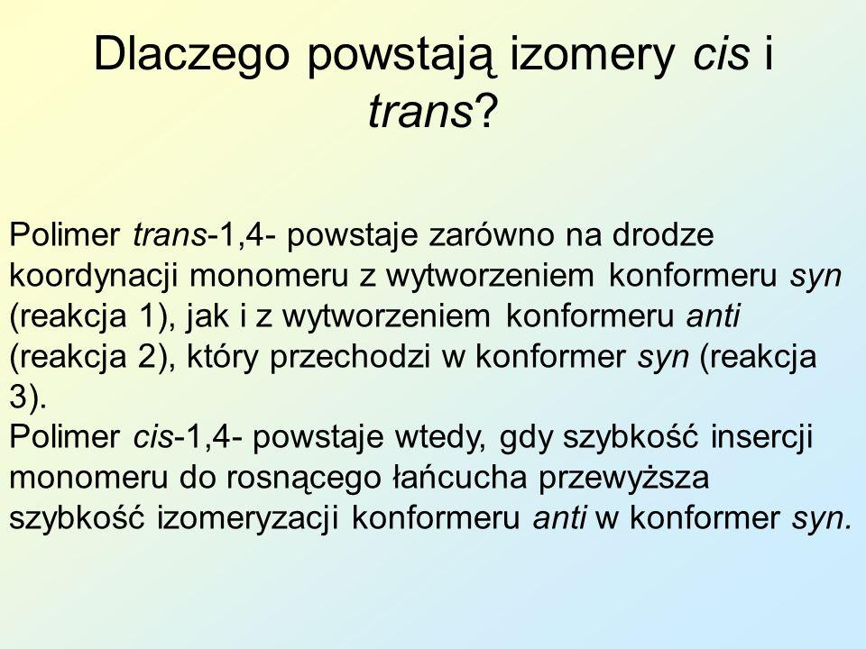 Dlaczego powstają izomery cis i trans