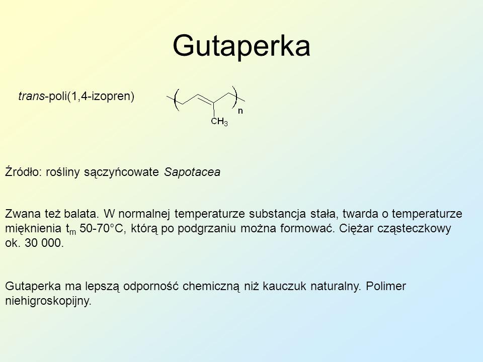 Gutaperka trans-poli(1,4-izopren)