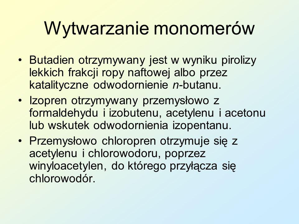Wytwarzanie monomerów