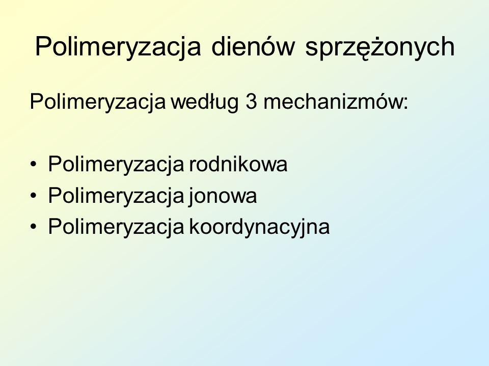 Polimeryzacja dienów sprzężonych