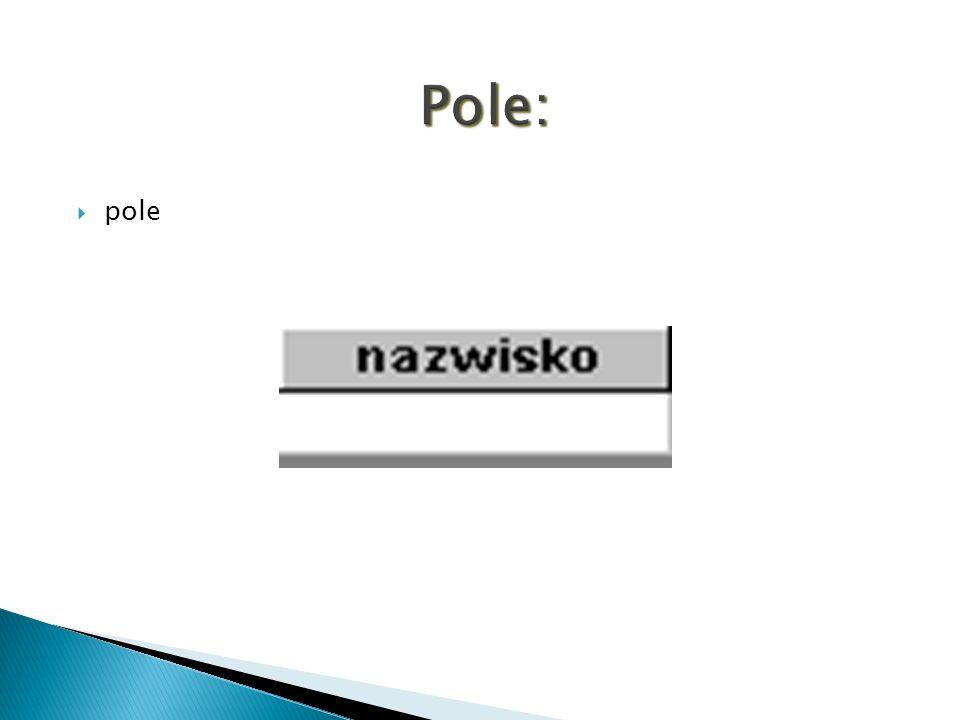 Pole: pole