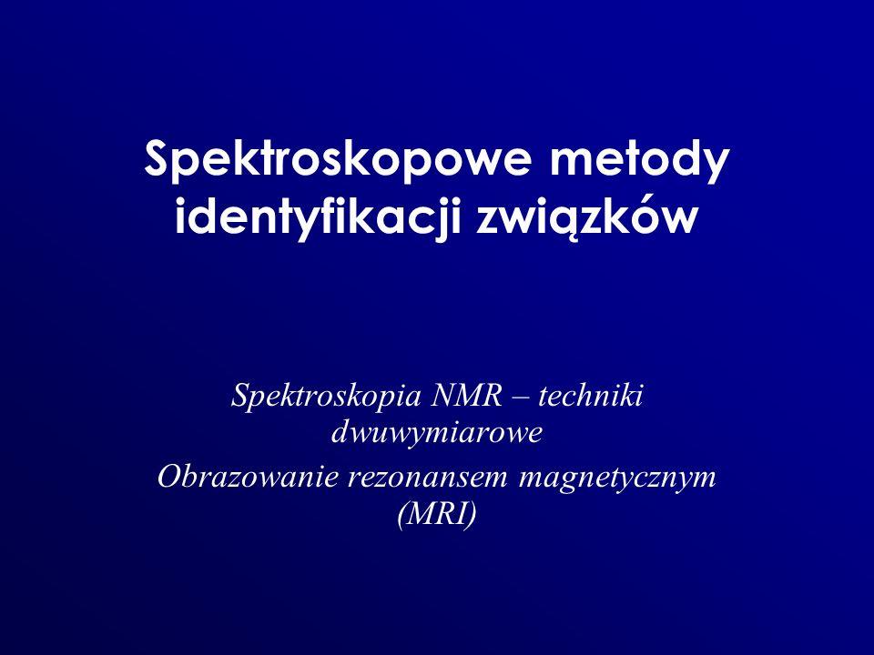 Spektroskopowe metody identyfikacji związków