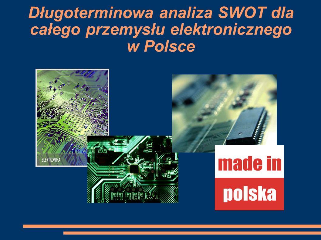Długoterminowa analiza SWOT dla całego przemysłu elektronicznego w Polsce