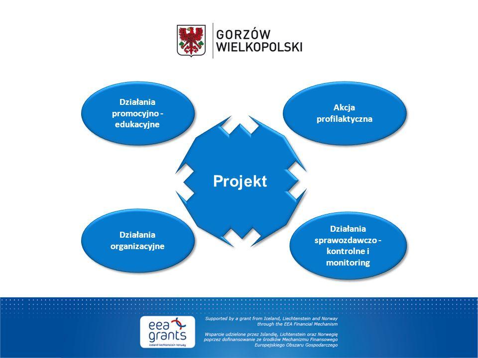 Projekt Działania promocyjno - edukacyjne Akcja profilaktyczna