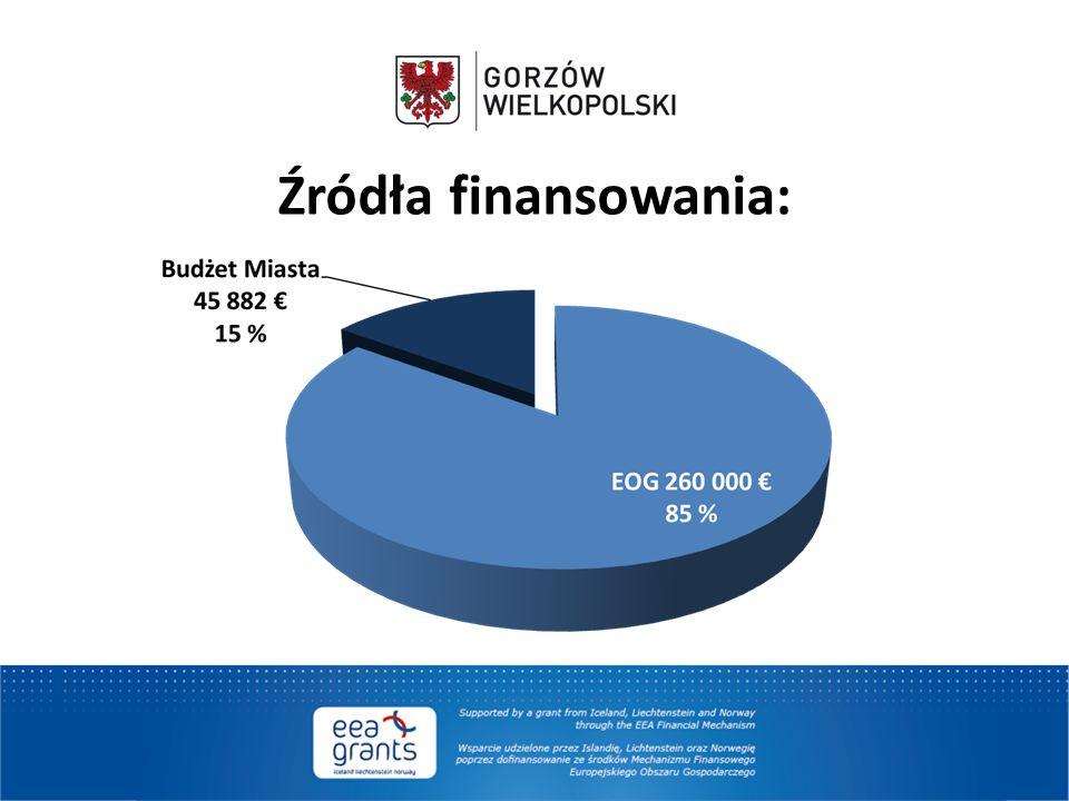 Źródła finansowania: