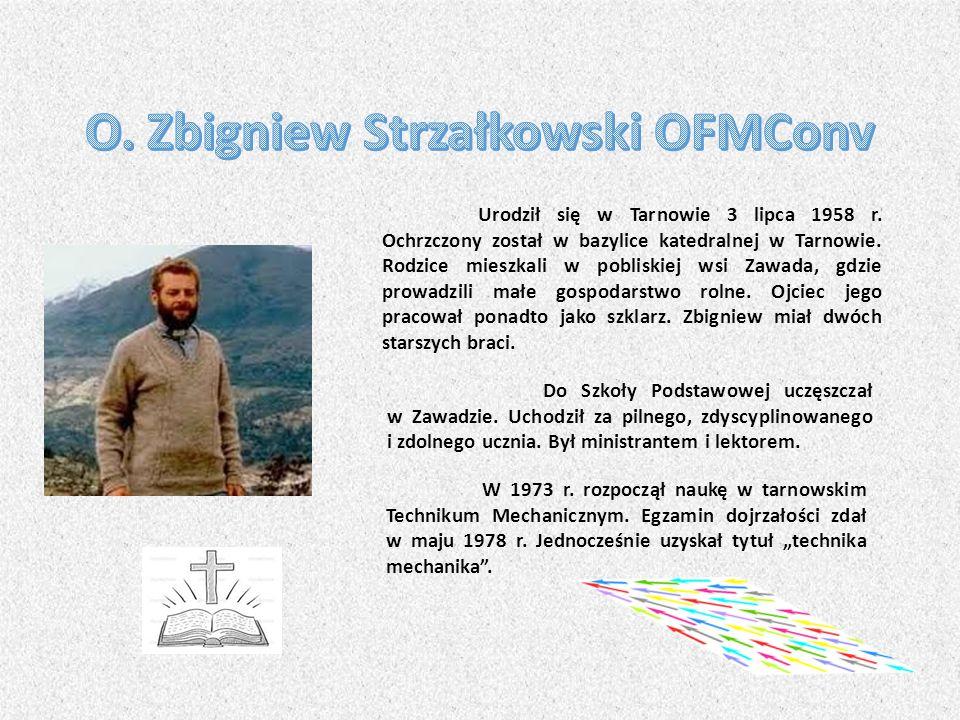 O. Zbigniew Strzałkowski OFMConv