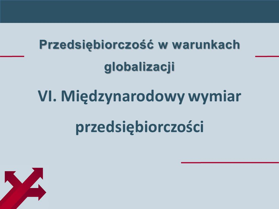 Jerzy Cieslik, Dynamic Entrepreneurship