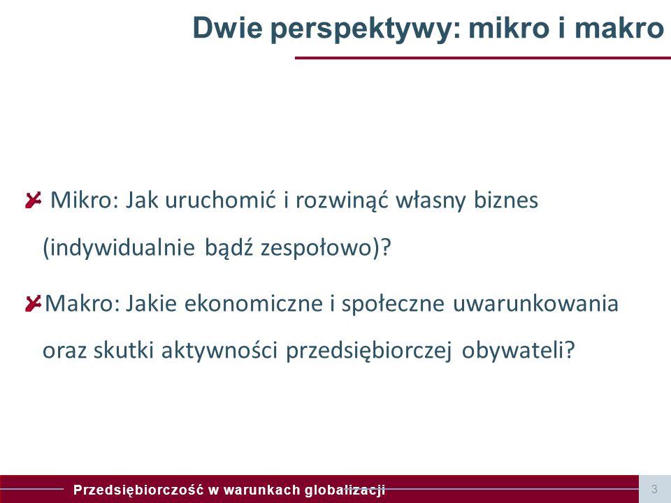 Dwie perspektywy: mikro i makro