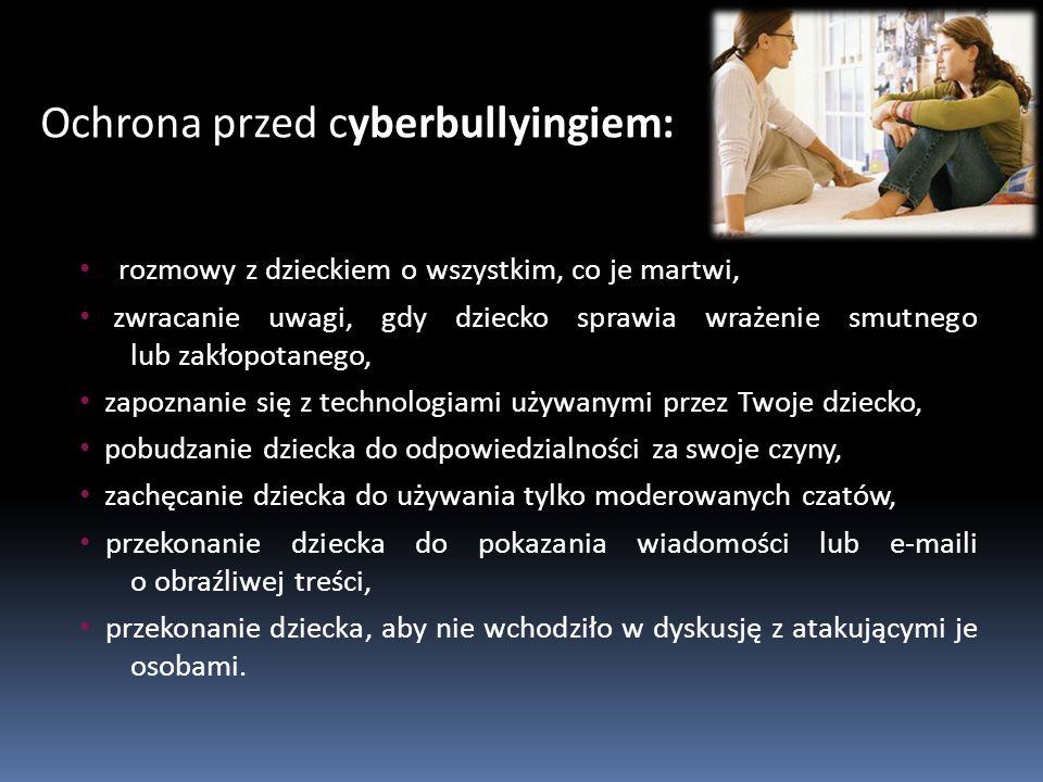 Ochrona przed cyberbullyingiem: