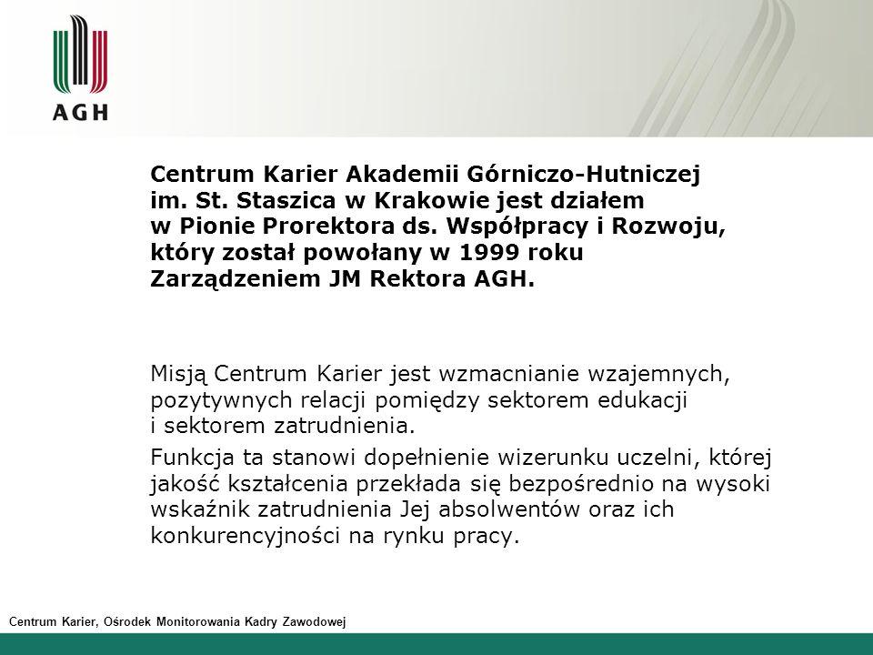 Centrum Karier Akademii Górniczo-Hutniczej im. St