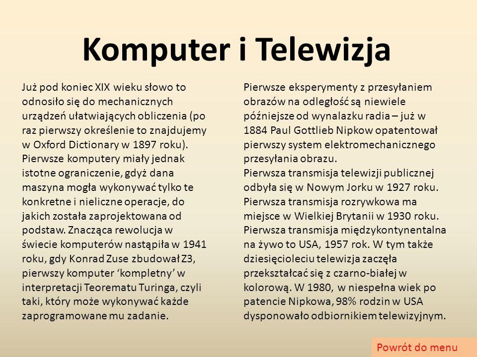 Komputer i Telewizja