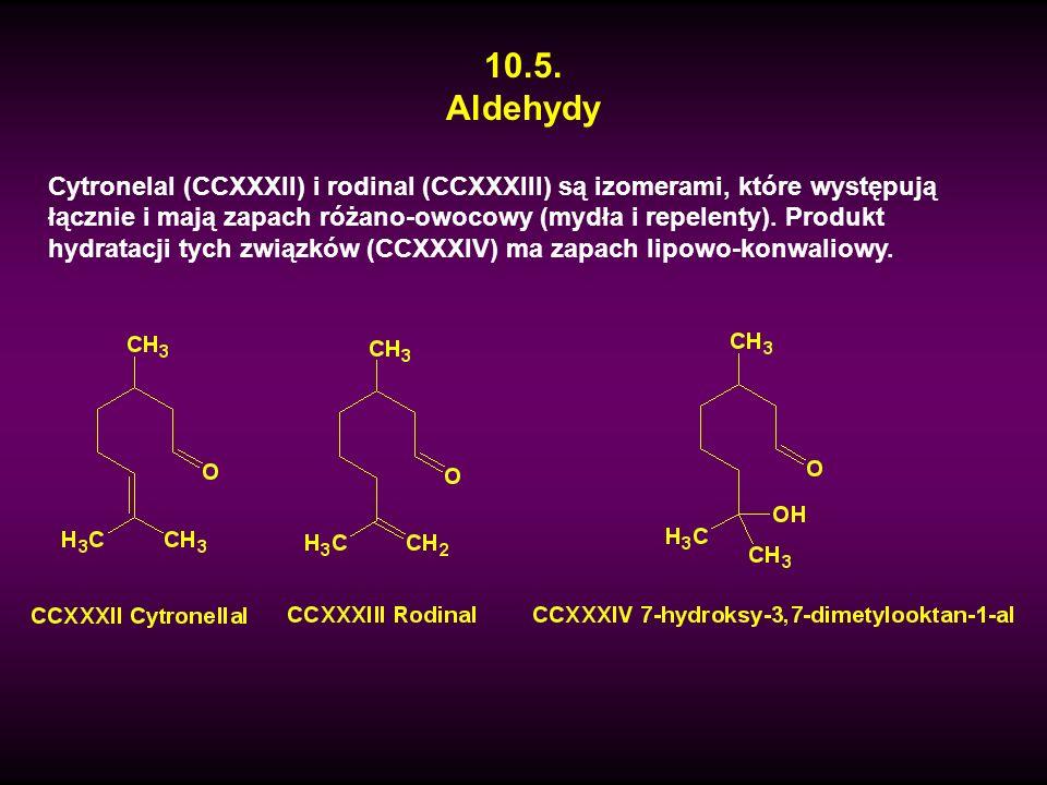 10.5. Aldehydy.