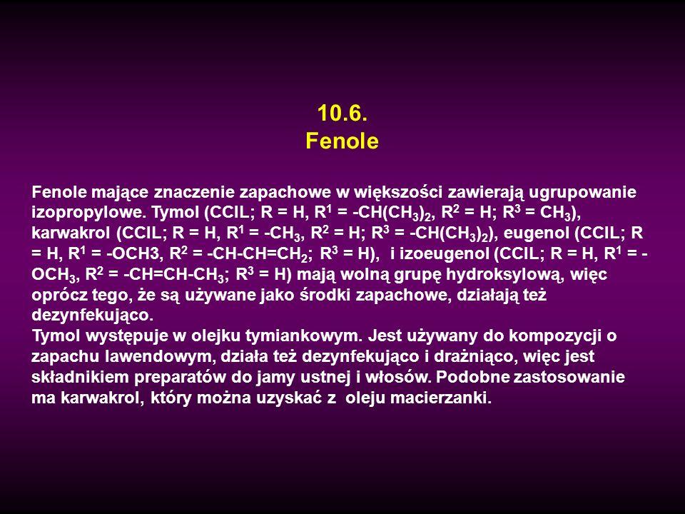10.6. Fenole.