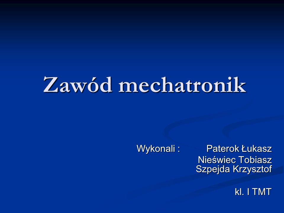 Wykonali : Paterok Łukasz Nieświec Tobiasz Szpejda Krzysztof kl. I TMT