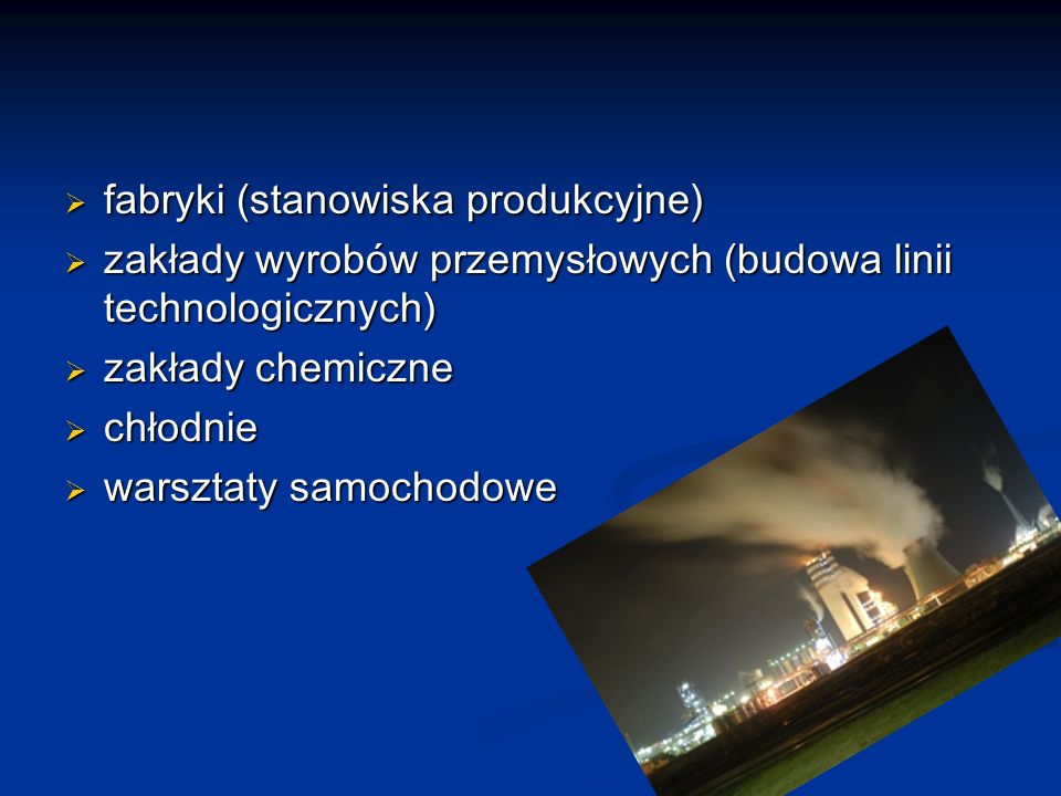 fabryki (stanowiska produkcyjne)