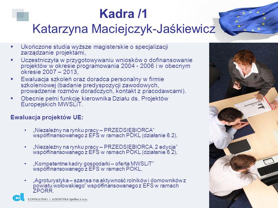 Kadra /1 Katarzyna Maciejczyk-Jaśkiewicz