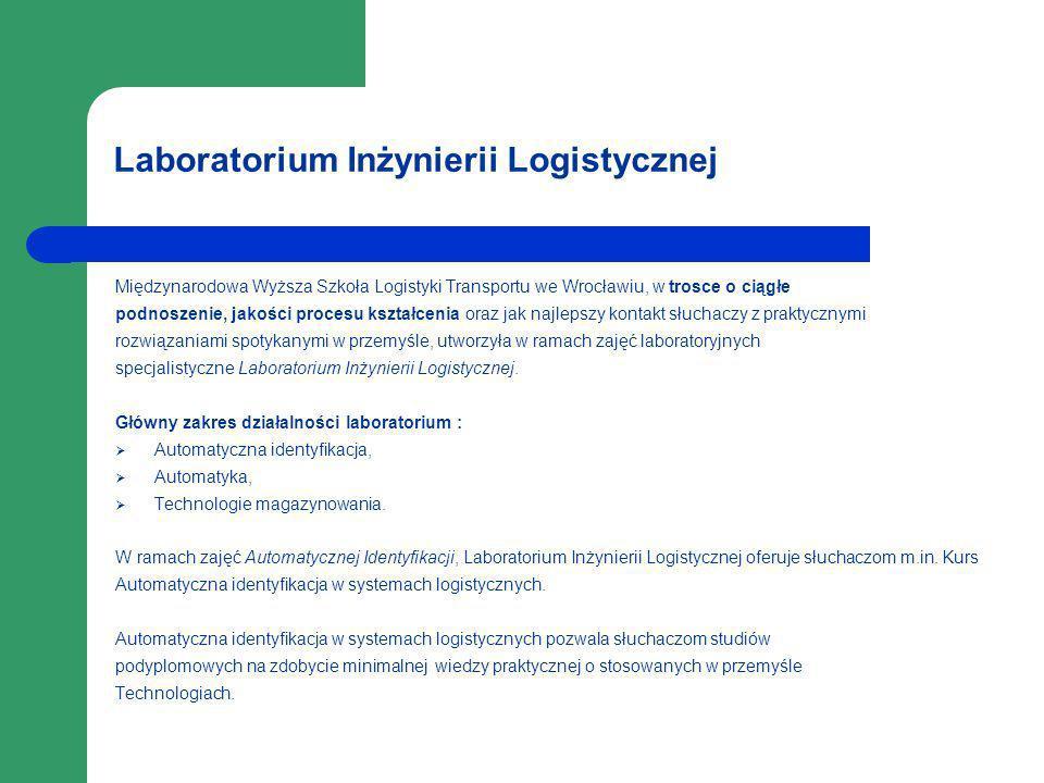 Laboratorium Inżynierii Logistycznej