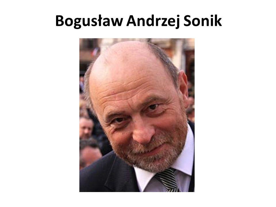 Bogusław Andrzej Sonik