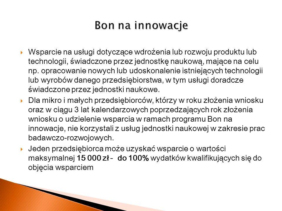 Bon na innowacje