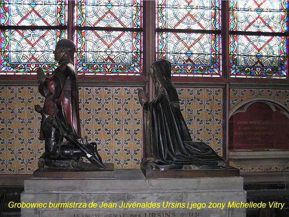 Grobowiec burmistrza de Jean Juvénaldes Ursins i jego żony Michellede Vitry