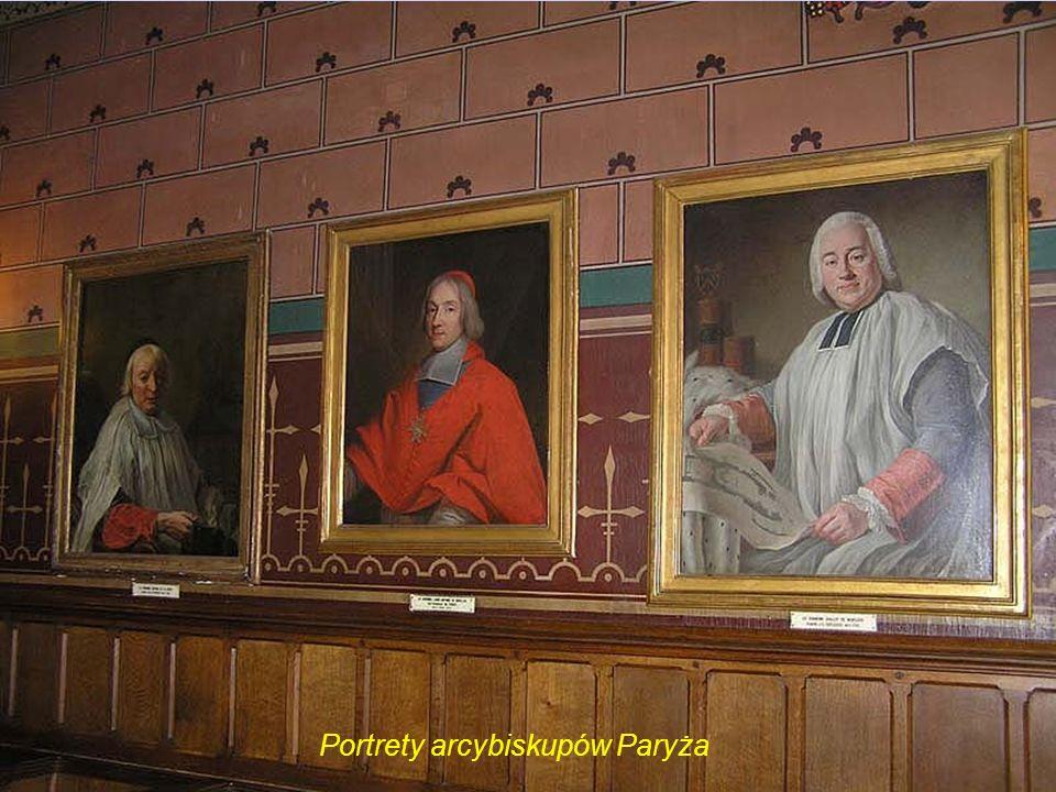 Portrety arcybiskupów Paryża