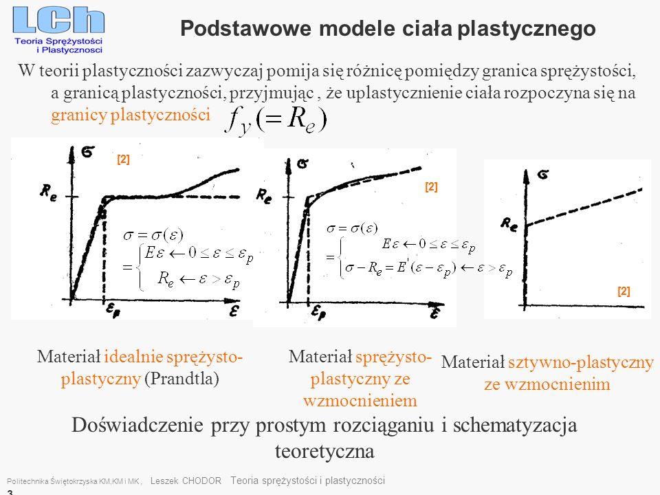 Podstawowe modele ciała plastycznego