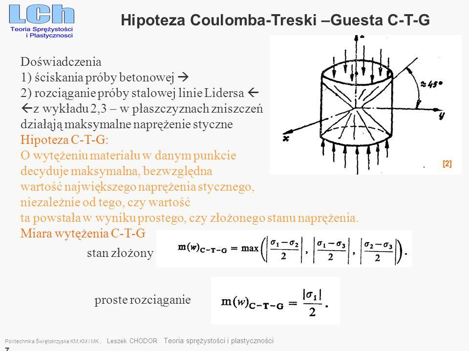 Hipoteza Coulomba-Treski –Guesta C-T-G