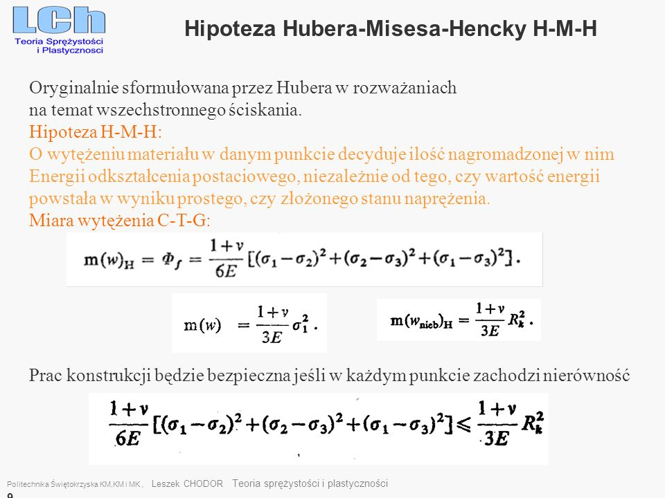 Hipoteza Hubera-Misesa-Hencky H-M-H