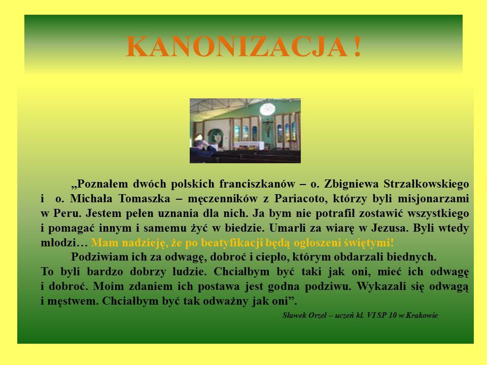 Sławek Orzeł – uczeń kl. VI SP 10 w Krakowie