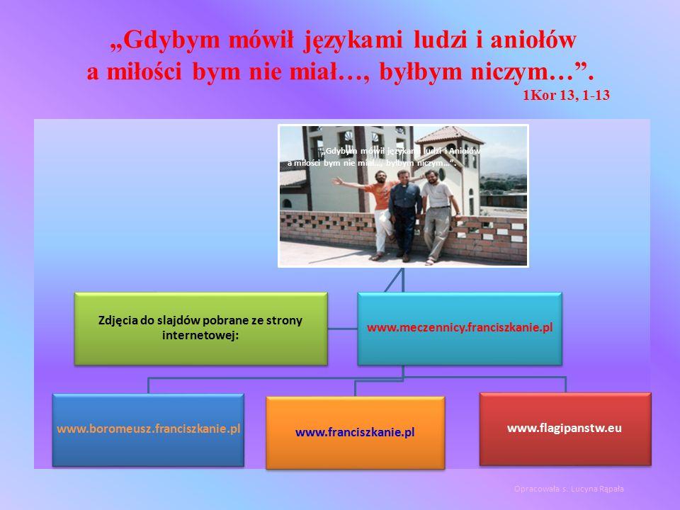 Zdjęcia do slajdów pobrane ze strony internetowej: