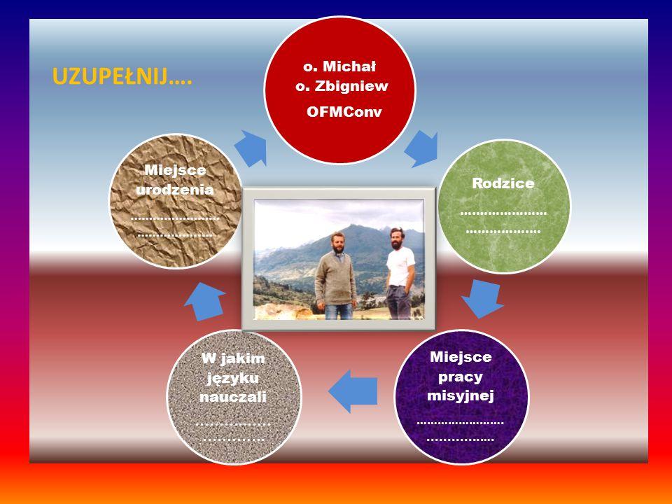 Miejsce pracy misyjnej W jakim języku nauczali